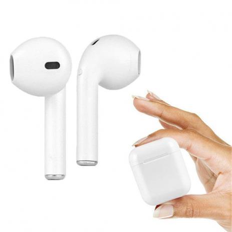 Fone De Ouvindo Bluetooth Com Caixa Carregador iOs/Android Tws Airpods I8s TWS
