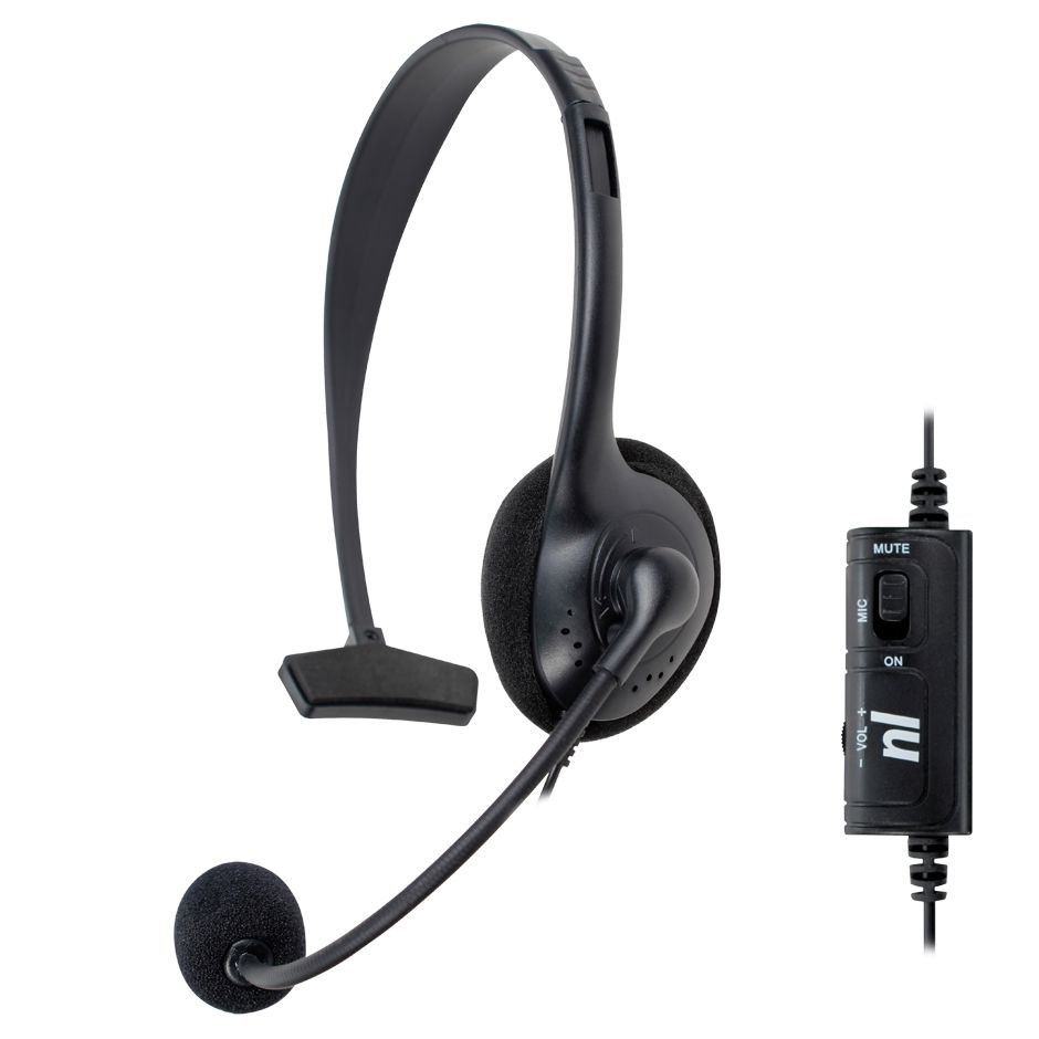 Fone Headset Control PS4 NewLink Game HS211