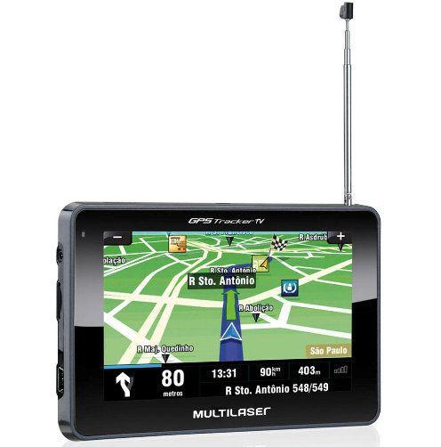 GPS Multilaser Tracker TV 4,3 Polegadas Multilaser GP034