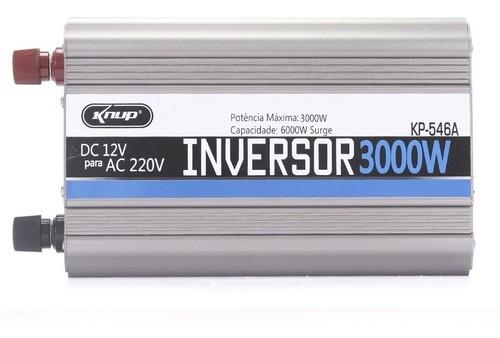 Inversor 3000w 12v 220v Onda Senoidal Para Frigobar