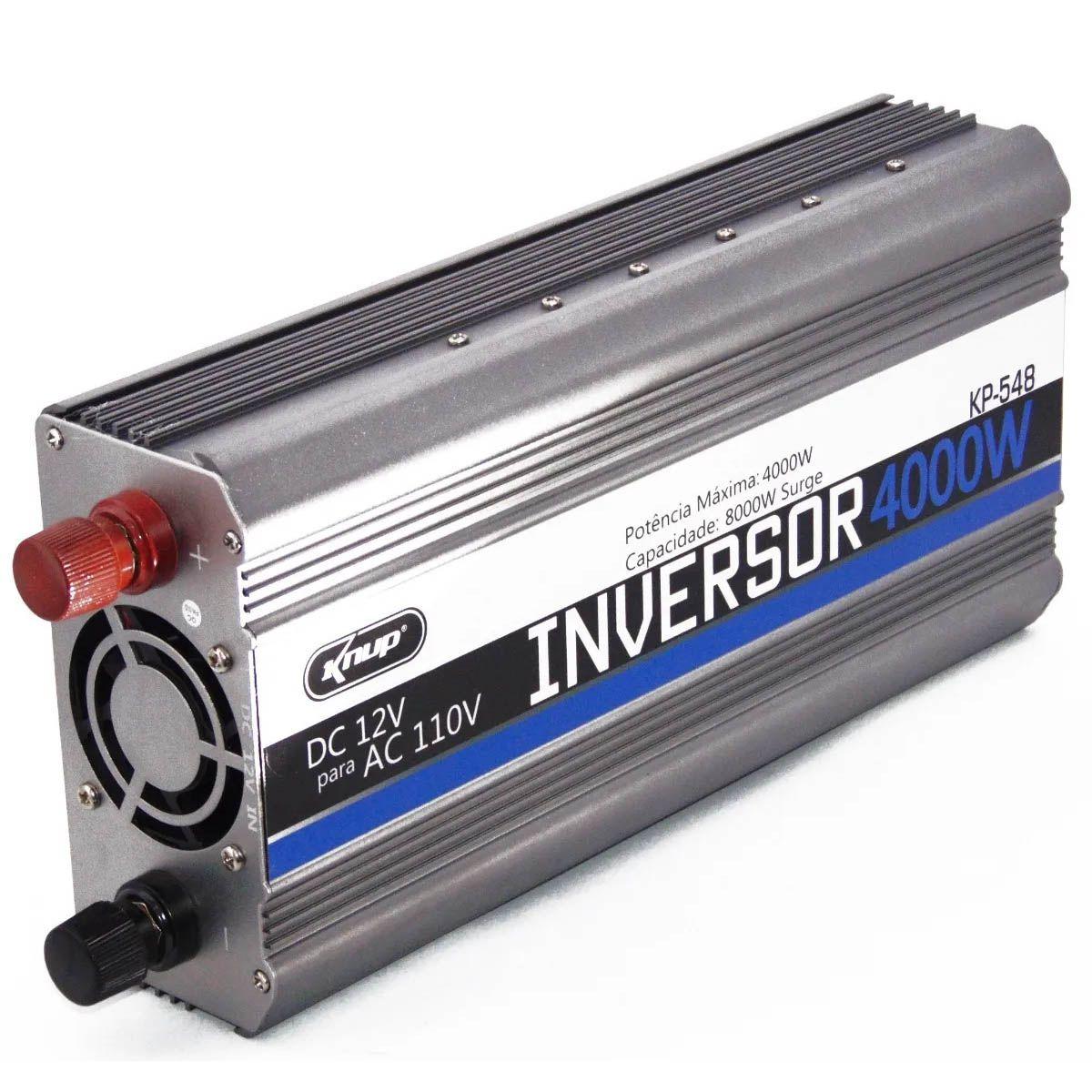 Inversor 4000w Off Grid Knup 12v 110v