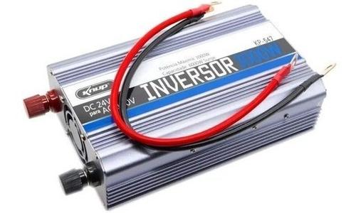 Inversor Conversor De Tensão Veicular Knup 3000w 24v 110v