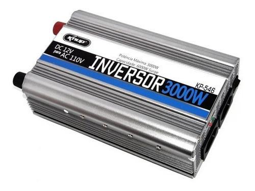 Inversor Onda Senoidal Modificada 3000w 12v 110v - knup