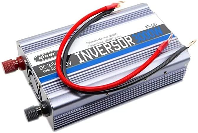 Inversor de tensão KNUP 3000w 24v 220v