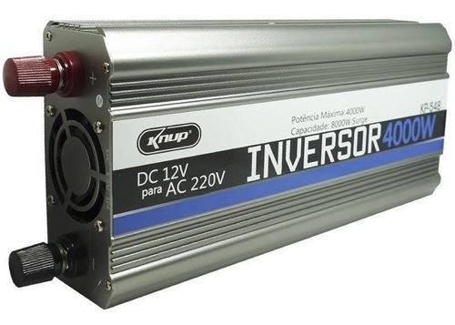 Inversor Tensão Conversor Transformador 4000w 12v 220v Knup
