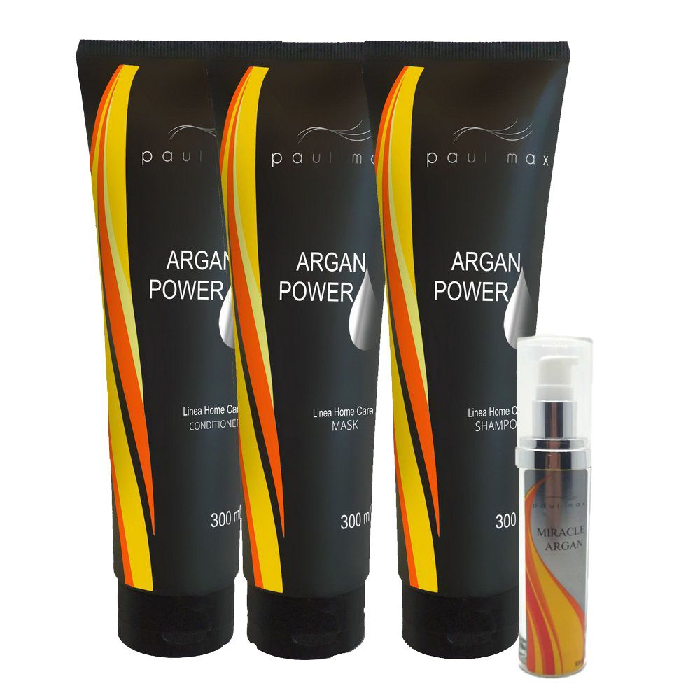 Kit Hidratação Argan Power Paul Max