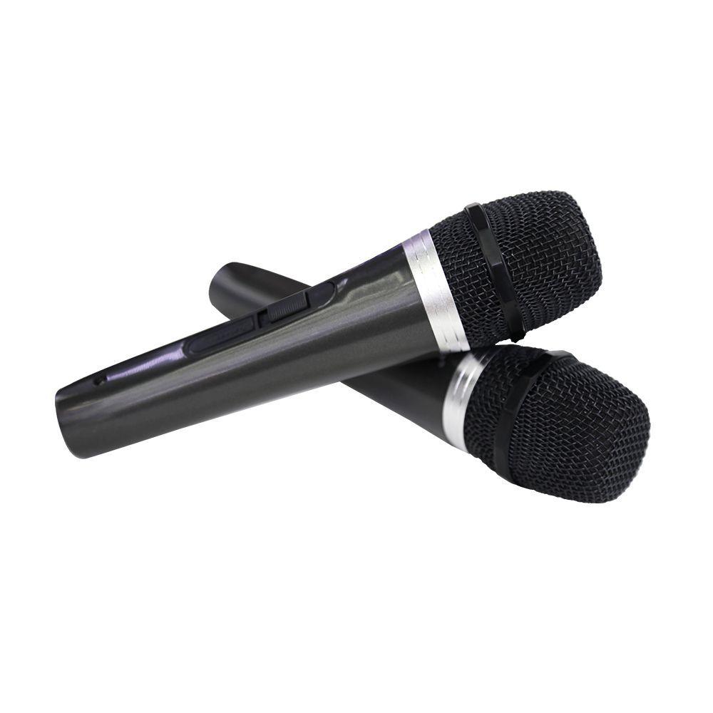 Kit Microfone Profissional Com fio Tomate 1003