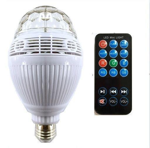 Lâmpada De Led Bluetooth Music Bulb Wj-l88