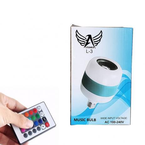 Lâmpada Music Bulb L3 12W Altomex L-3