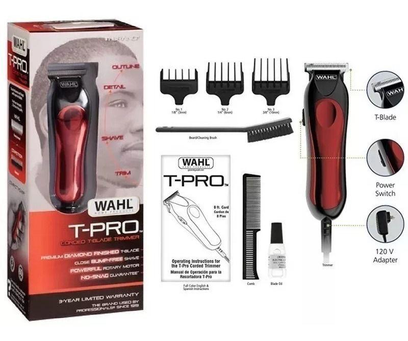 Máquina de Cortar cabelo Bivolt T-Pro 9307 Wahl