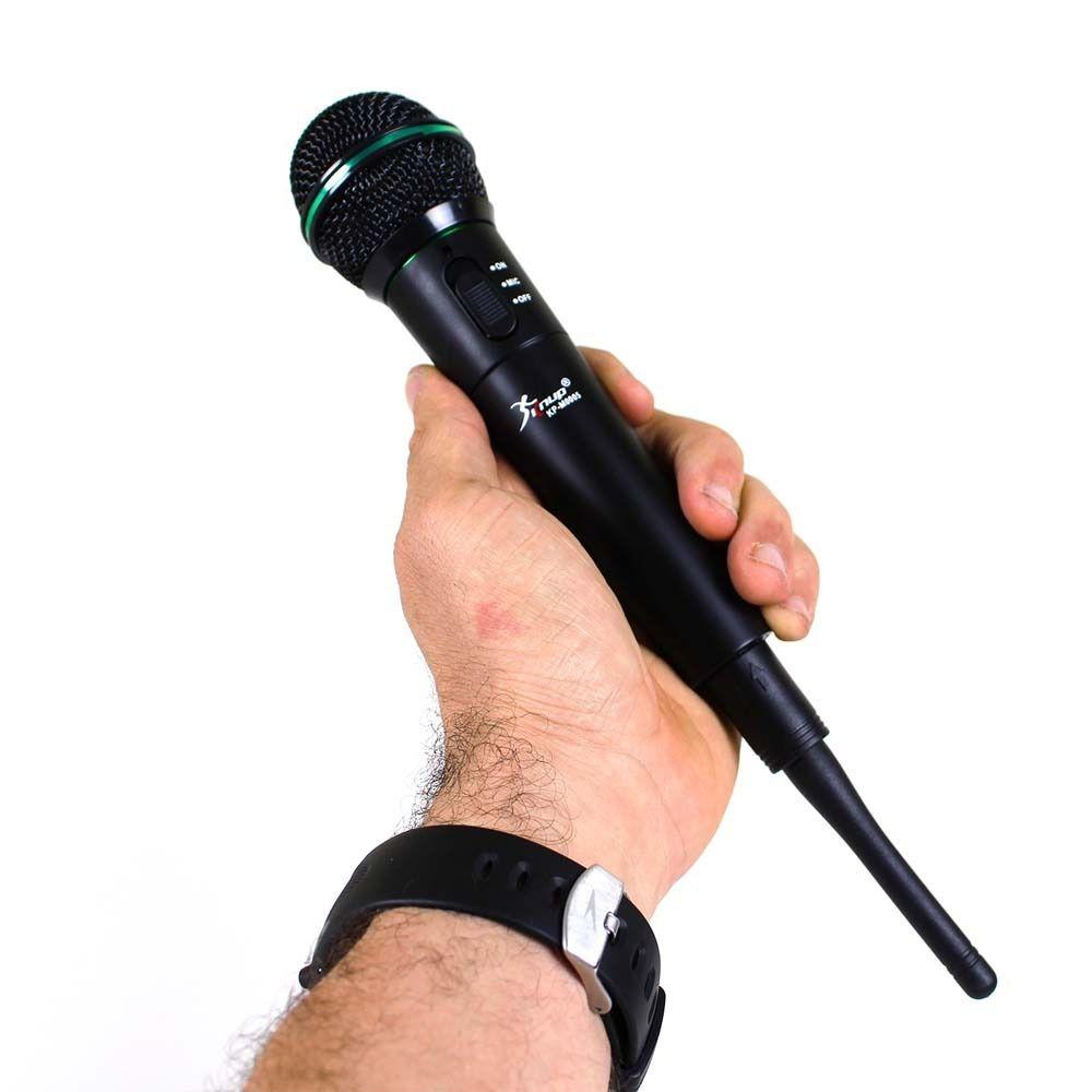 Microfone sem Fio Knup k-m005 Wireless UHF