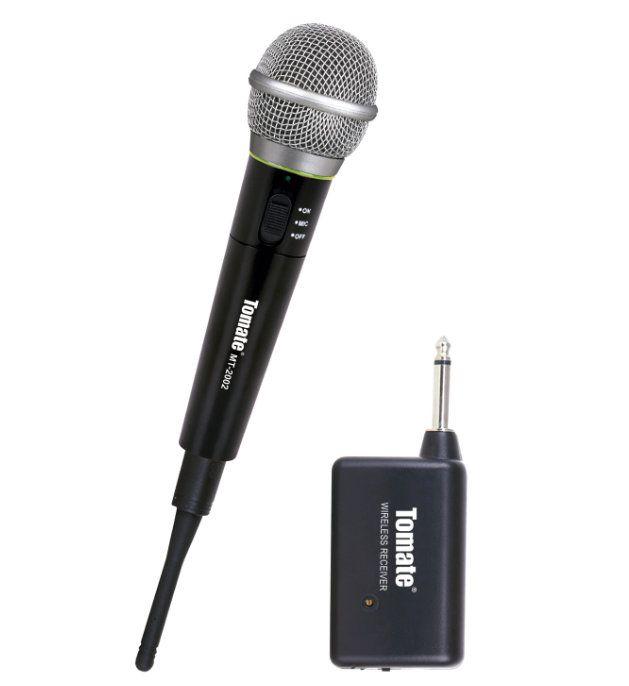 Microfone Sem Fio Profissional Tomate Mt-2002