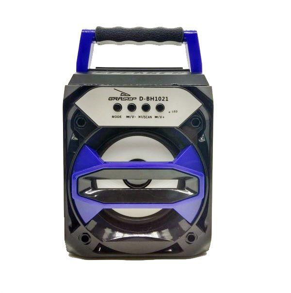 Mini Caixa de Som Bluetooth, USB, AUX Grasep D-BH1021