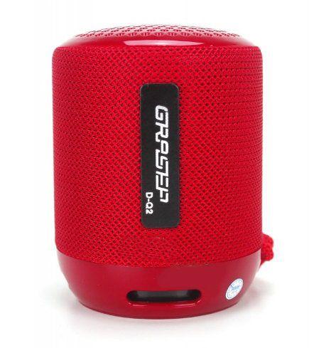 Mini Caixa de Som Speaker, Rádio e Usb Bluetooth Grasep D-Q2