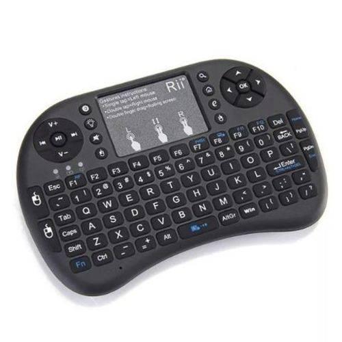 Mini Controle e Teclado para Tv Smart Sem fio Keyboard Wireless Knup Kp-2031