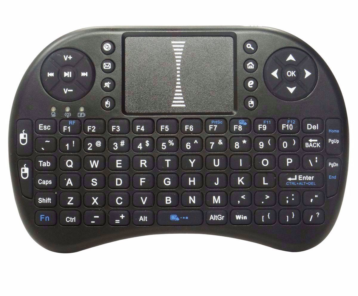 Mini Teclado Sem Fio Wireless para Box e Tv Smart