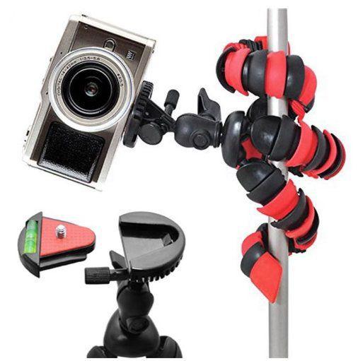 Mini Tripé Flexível Articulado Para Gopro, Celular ou Câmera Tt281