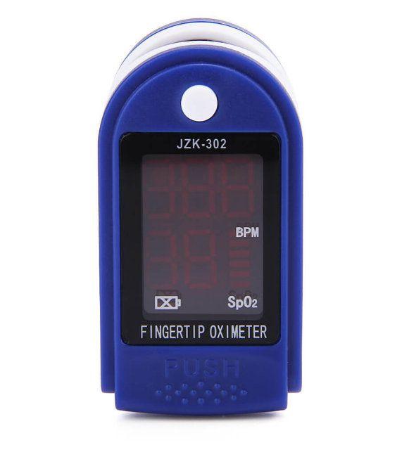 Monitor de Sinais Vitais Oxímetro de Dedo JZK-302
