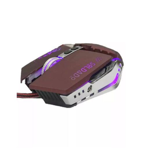 Mouse Gamer X Soldado GM-705 Infokit