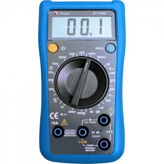 Multímetro Digital ET-1100A MINIPA