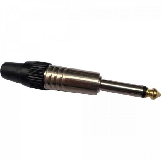 Plug P10 Mono Metal com Ponta Gold PGPZ0041 STORM - PCT / 10