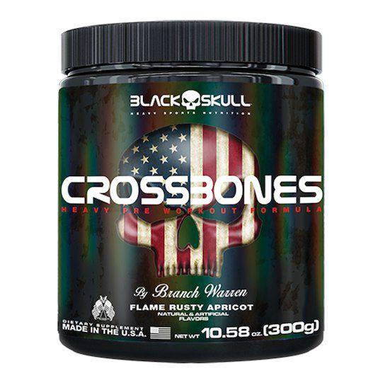 Pré Treino Crossbones 150g Black Skull