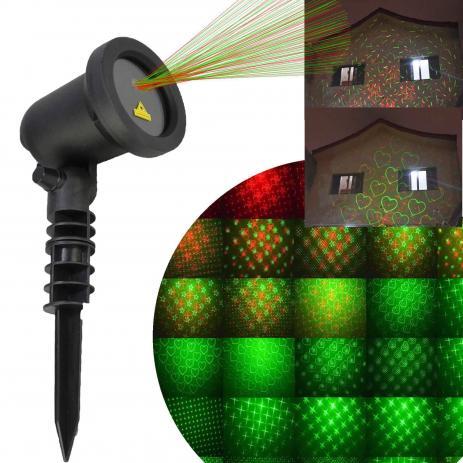 Projetor Laser de Jardim para festas Bivolt