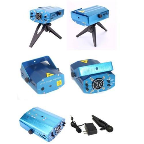 Mini Projetor Laser holográfico com Desenhos de Luz LuaTek LK-173A