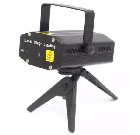 Projetor Laser holográfico Pontos de Luz LuaTek LK-173