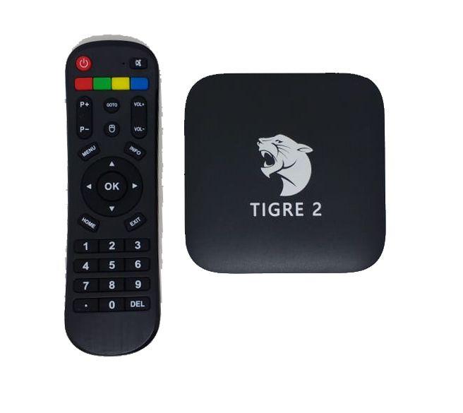Receptor Tigre Tv 2 Brasil 4K Ultra HD WI-Fi Android Iptv
