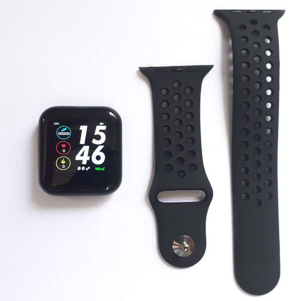 Relógio Smartwatch Inteligente Pressão Arterial Monitor Cardíaco Mtr-26 Tomate