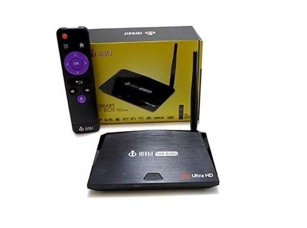 Tv Box Smart Android 7.1 2gb 16gb 4k Bluetooth Infokit TVB-926G