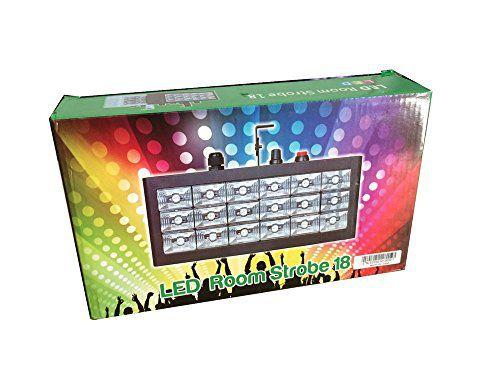 Strobo de Luzes de Led 18 RGB