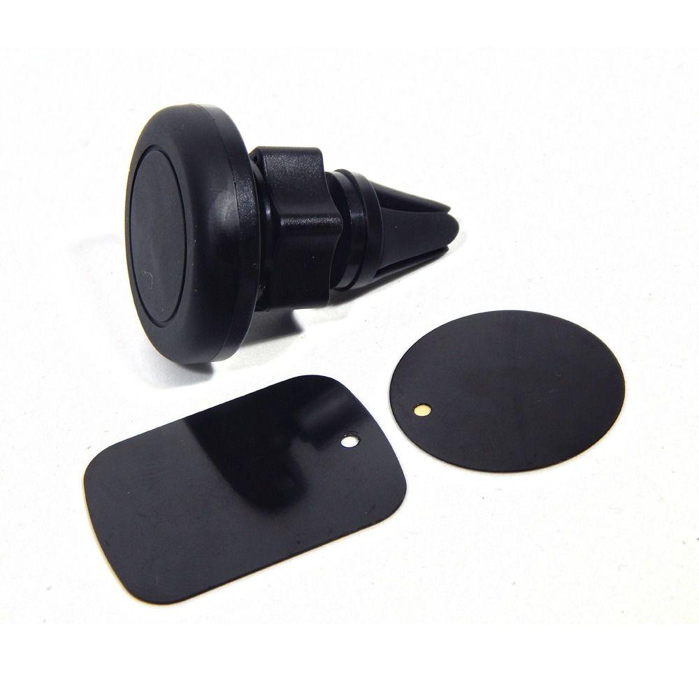 Suporte de Celular Veicular de Imã Fixação no Ar Condicionado Exbom SP-A22