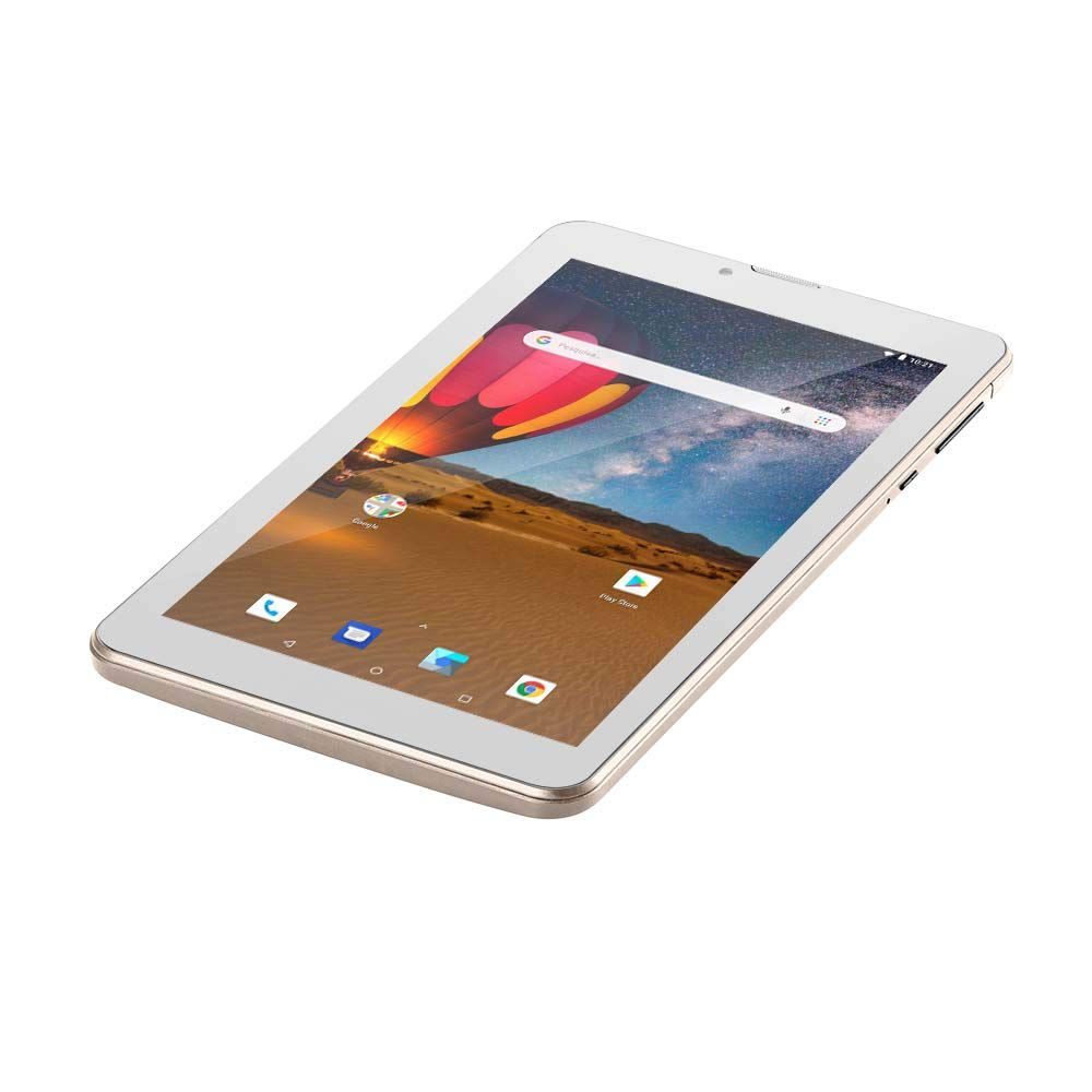 "Tablet de 7""polegadas Multilaser M7 3G Plus + Dual Chip Quad Core - 1 GB de Ram e 16 GB de Memória  - NB306"