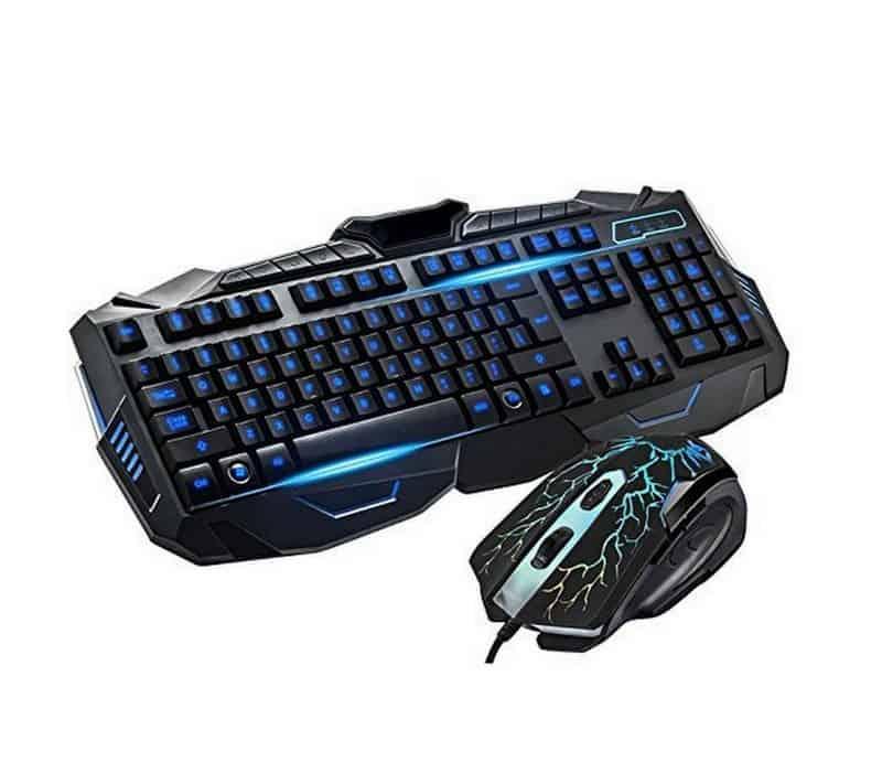 Teclado Gamer com Mouse V-100 B-Max