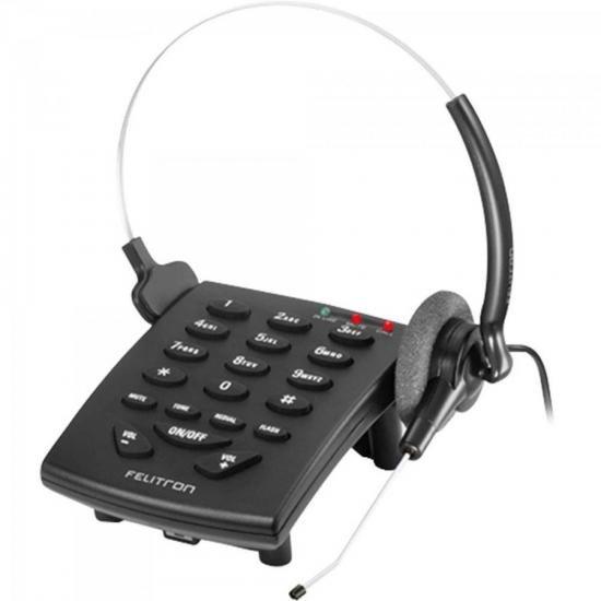 Telefone Headset S8010 Black VG FELITRON
