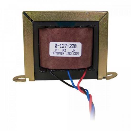 Transformador 15/400 15+15VAC 127/220VAC 80mA HAYONIK