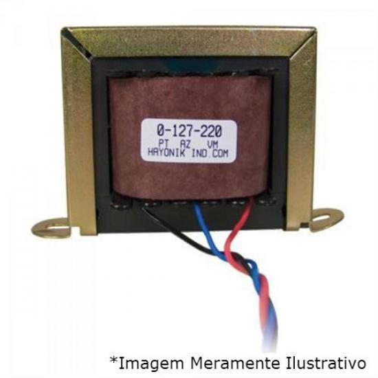 Transformador 9+9VAC 127/220VAC 95mA 9/200 HAYONIK
