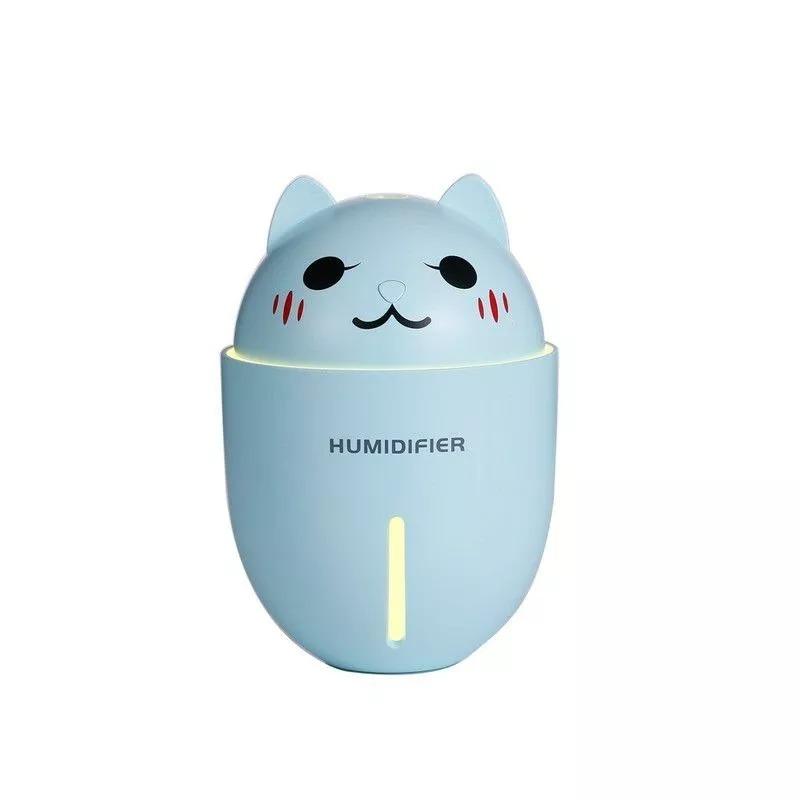 Umidificador com Mini Ventilador Pet 3 Em 1 Usb com Led Humidifier Y1