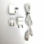 Fonte Usb 10w Original Apple Carregador Iphone + Cabo Lightning Usb Seminovo