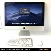 iMac 21 i5 2.7Ghz 16GB 256GB SSD MD093LL/A Recertificado