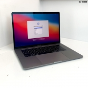 Macbook Pro 15 Space Grey i7 2.6Ghz 6 core 16GB 256GB SSD MPTT2LL/A Seminovo