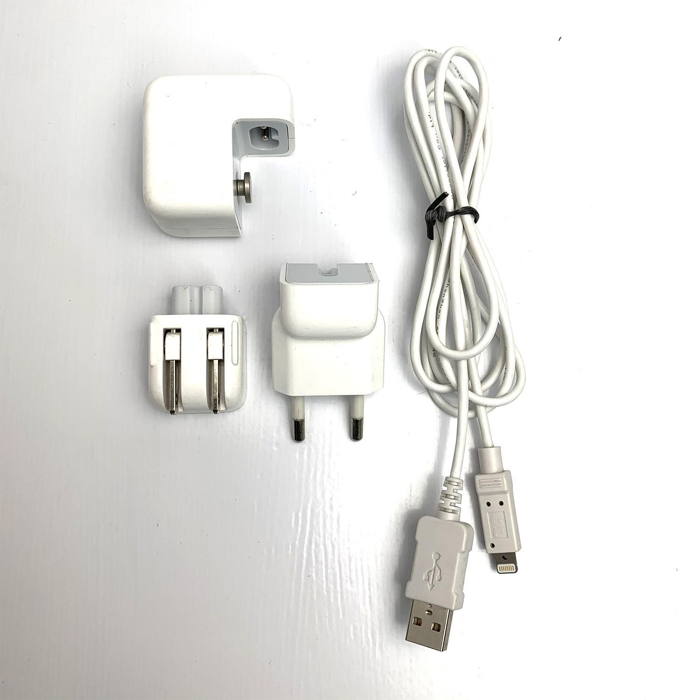 Fonte Usb 10w Original Apple Carregador Iphone + Cabo Lightning Usb Seminovo