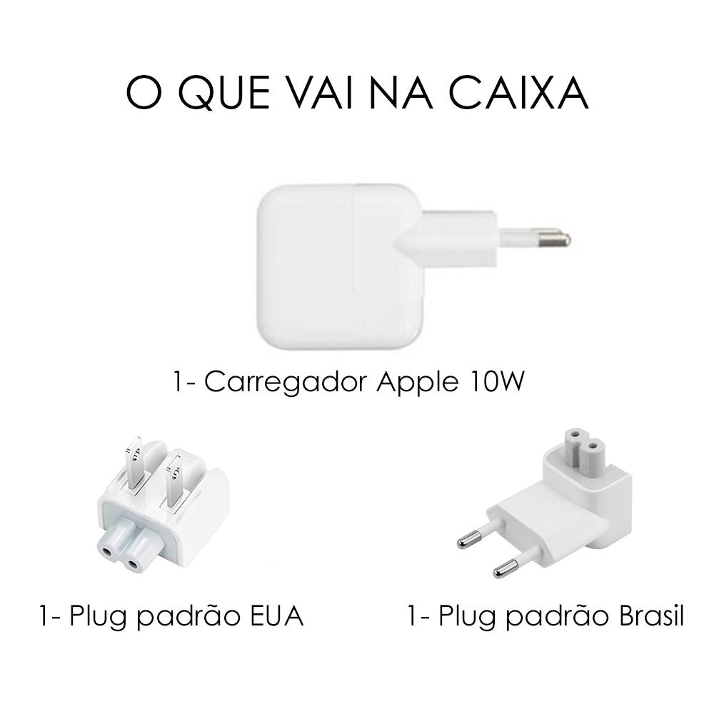 Fonte Usb 10w Original Apple Carregador Iphone Refurbished
