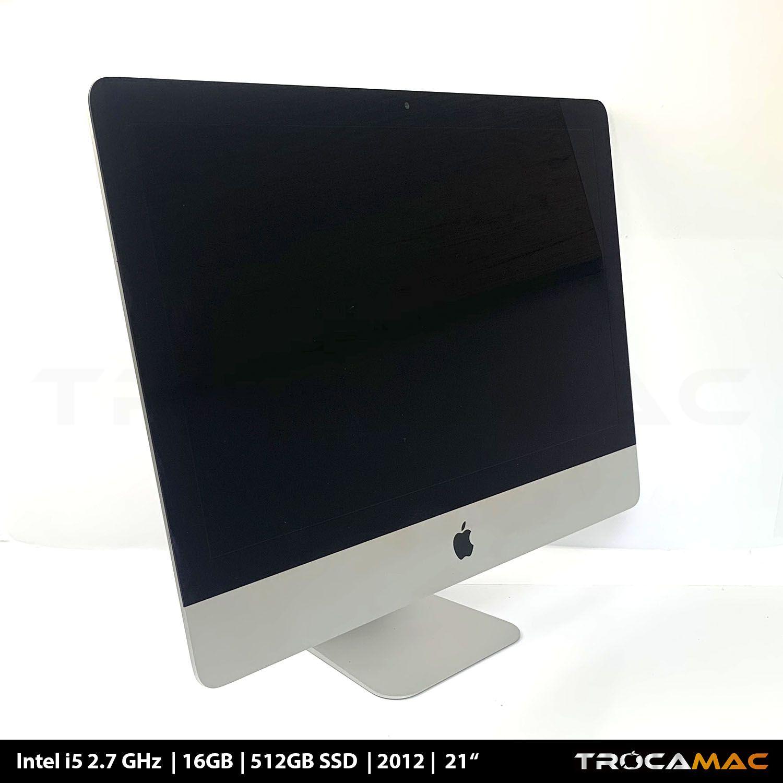 iMac 21 i5 2.7Ghz 16GB 256GB SSD MD093LL/A Recertificado