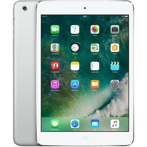 "iPad Mini 7.9"" 4a geração Space Gray 128GB MK6K2LL/A Seminovo"
