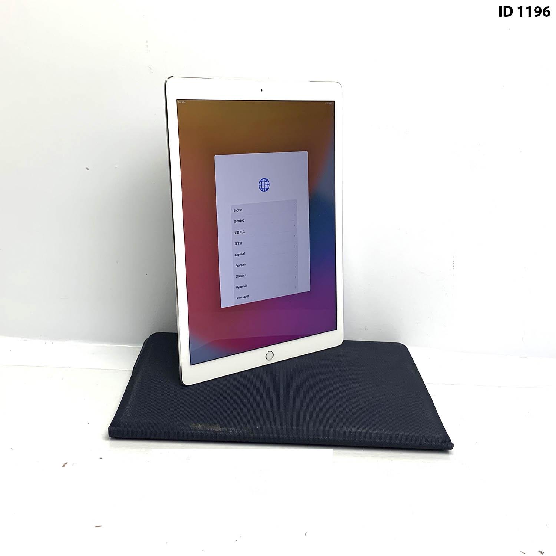 """iPad Pro 12.9"""" 1a geração Silver 128GB ML3N2LL/A Seminovo"""