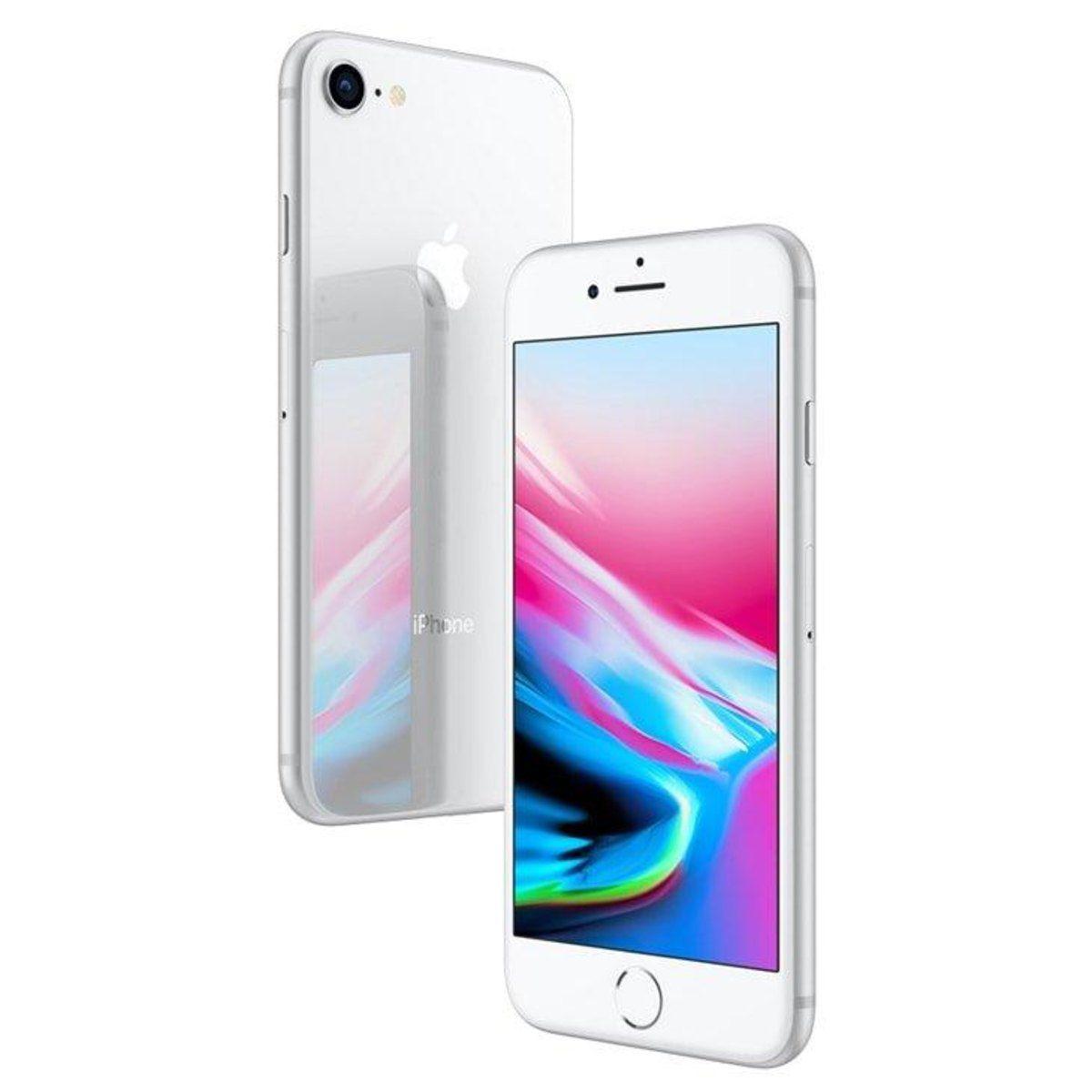 iPhone 8 64GB Prata MQ6X2LL/A Seminovo