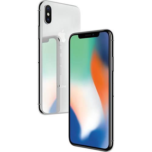 iPhone X 64GB Prata MQAJ2LL/A Seminovo
